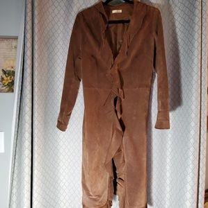 Wilson's Leather SuedeBrown 3/4 jacket